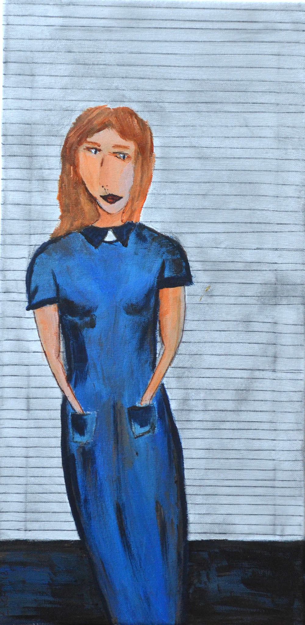 Blue Dress #21