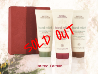 A GIFT OF RENEWAL FOR YOUR JOURNEY    $21 SOLD OUT    Hand Relief with Aromas: Candrima, Shampure, Rosemary Mint