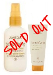 A GIFT OF UPLIFTING BEAUTY    $35 SOLD OUT    Beautifying Pure-Fume Mist 100ml Beautifying Body Moisturizer 40ml