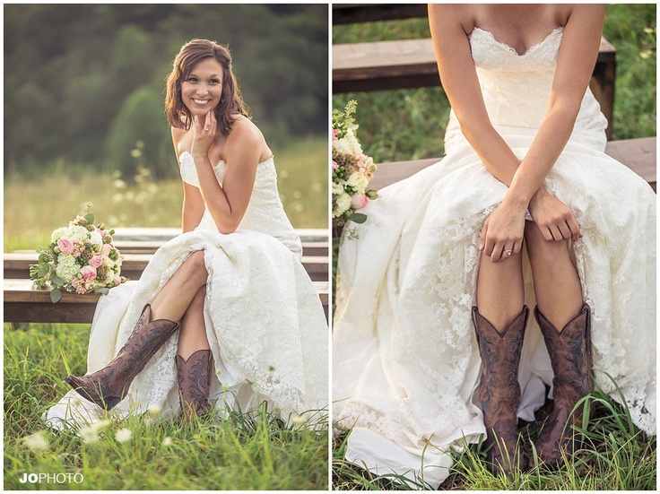 Cowboy boots for your first dance!