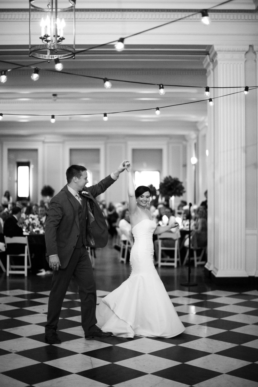 First Dance at the Chicago History Museum, Photo by  Kina Wicks