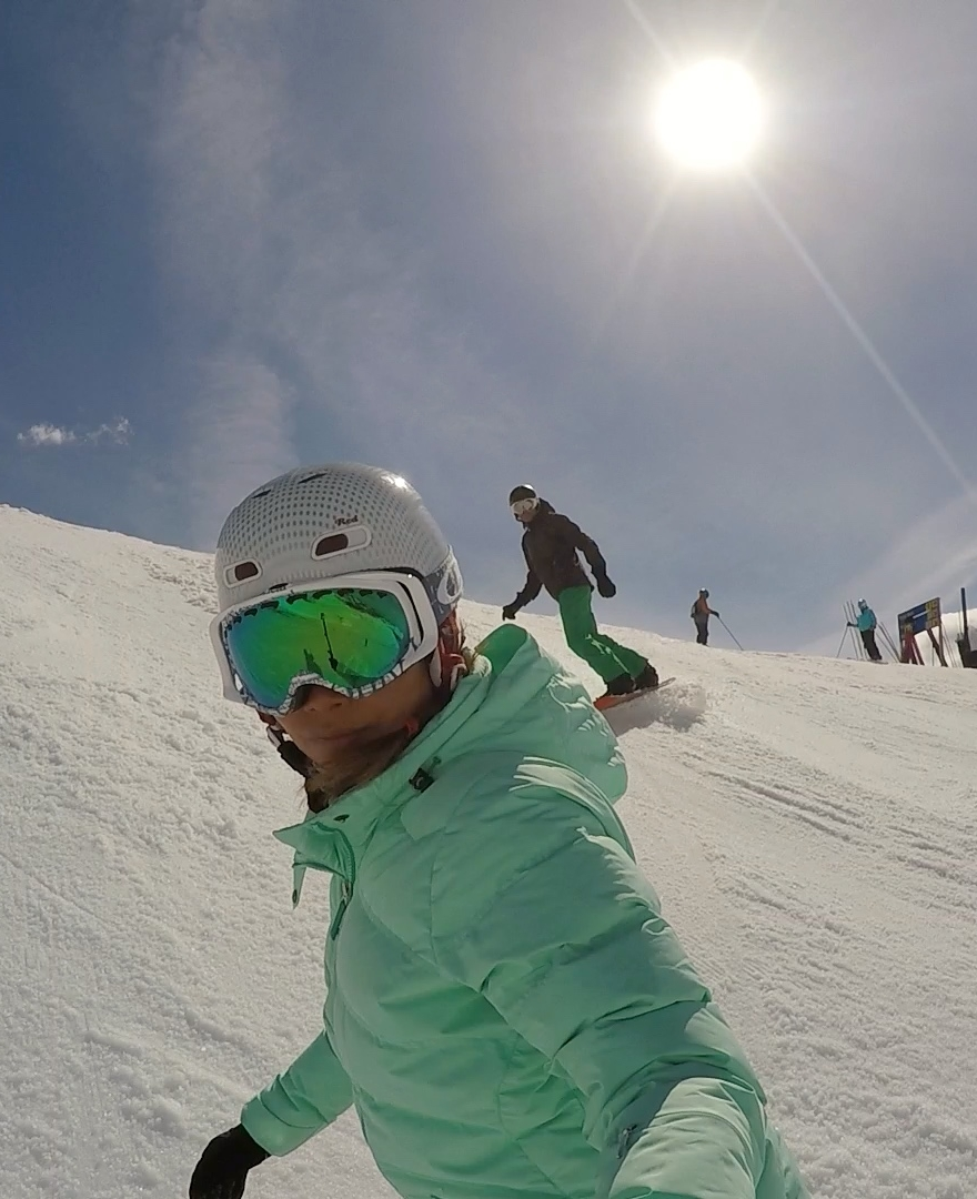 GOPRO FUN ON THE MOUNTAIN