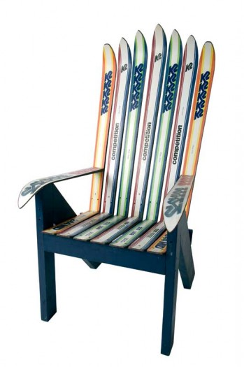 8 Awesome Ways To Upcycle Your Old Skis The Snow Chasers