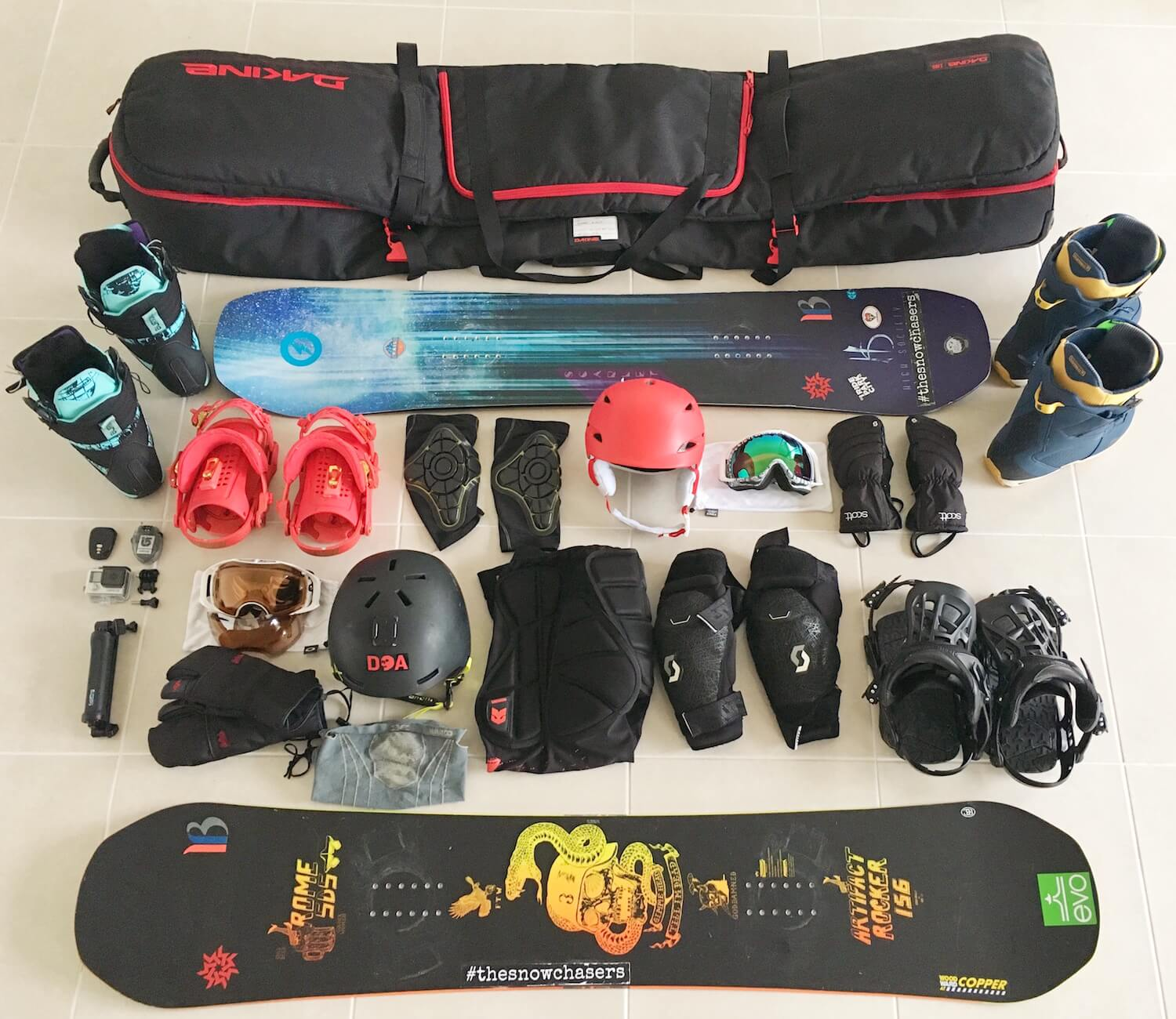 0b1434dcc2 What And How To Pack For A Snowboarding Holiday — The Snow Chasers ...