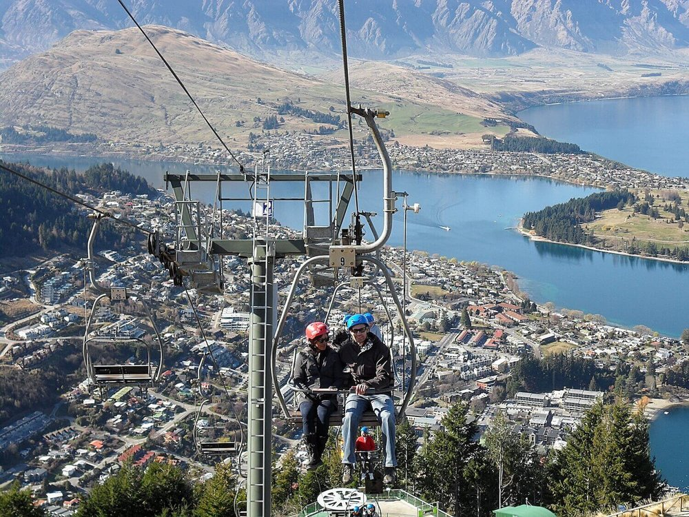 Luge Chairlift Queenstown