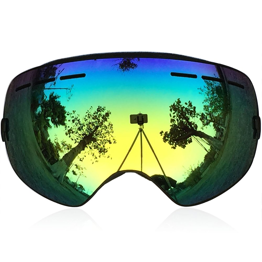 Zionor Snowboard Goggles with Detachable Lens
