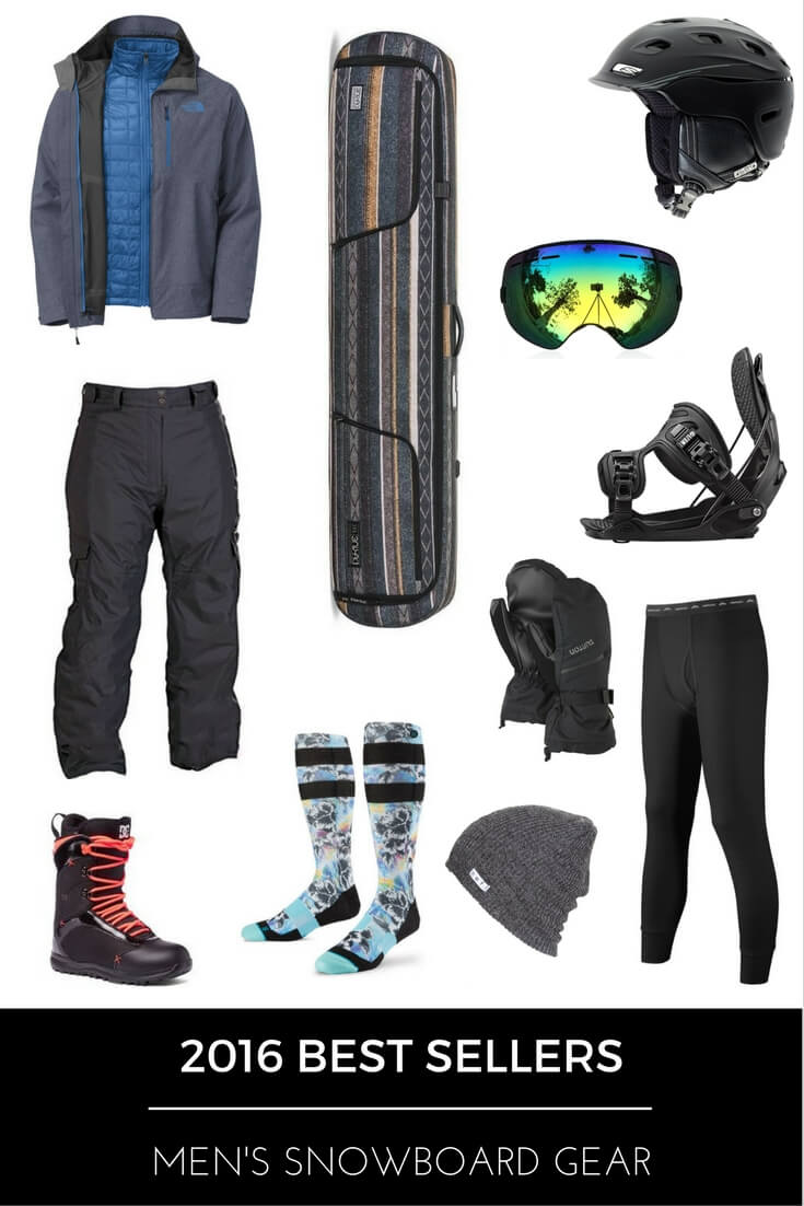 2016 Best Sellers - Men's Snowboard Gear