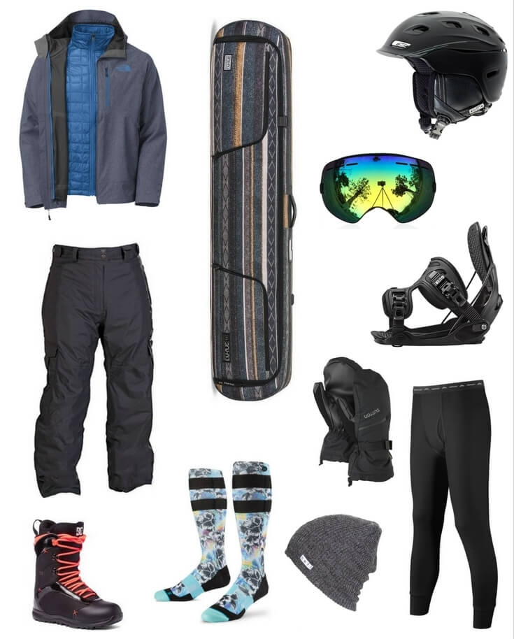 5f552d3d0 2016 Best Selling Men's Snowboard Gear — The Snow Chasers | travel ...