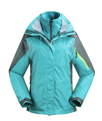 J&D Life Women's Outdoor 3-IN-1