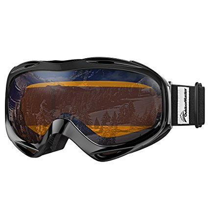OutdoorMaster Mirrored OTG Ski Goggles