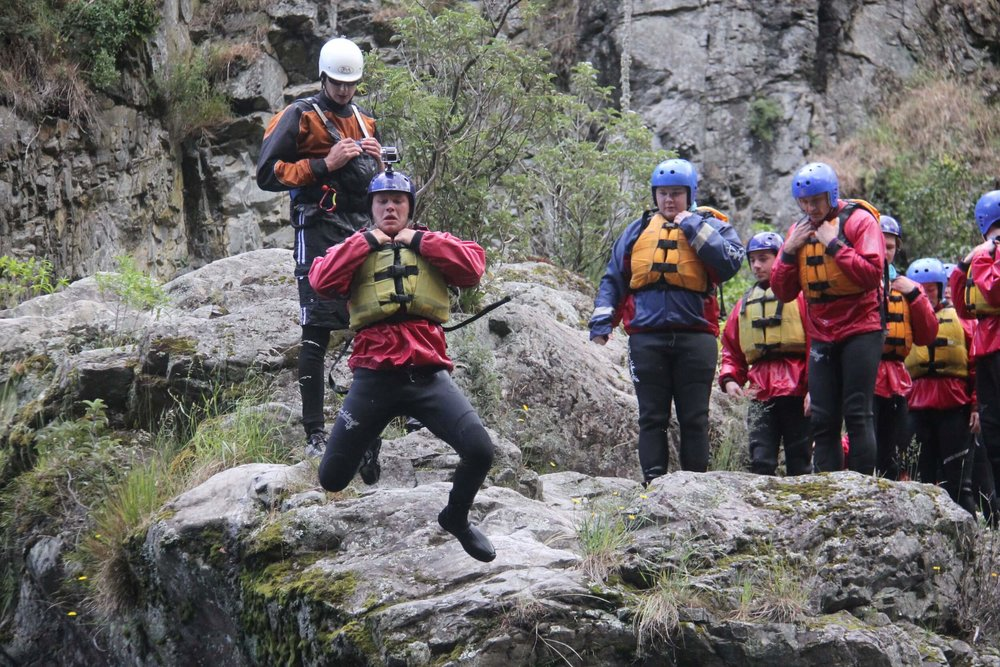 Volle white water rafting