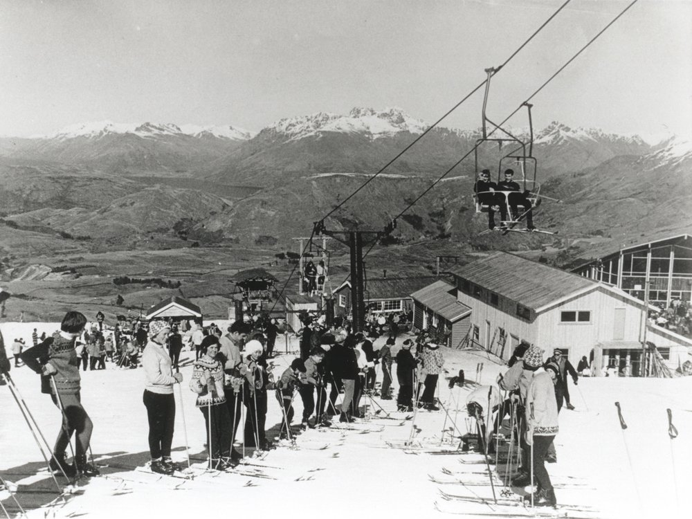 CORONET PEAK IN THE 1960'S