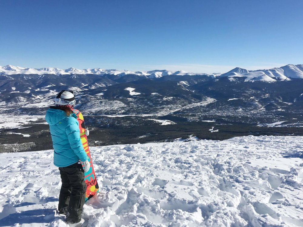 BRECKENRIDGE OFFERS SOME AMAZING VIEWS