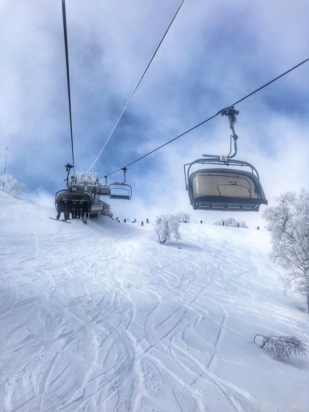 HOODED CHAIRLIFTS ARE THE BEST!