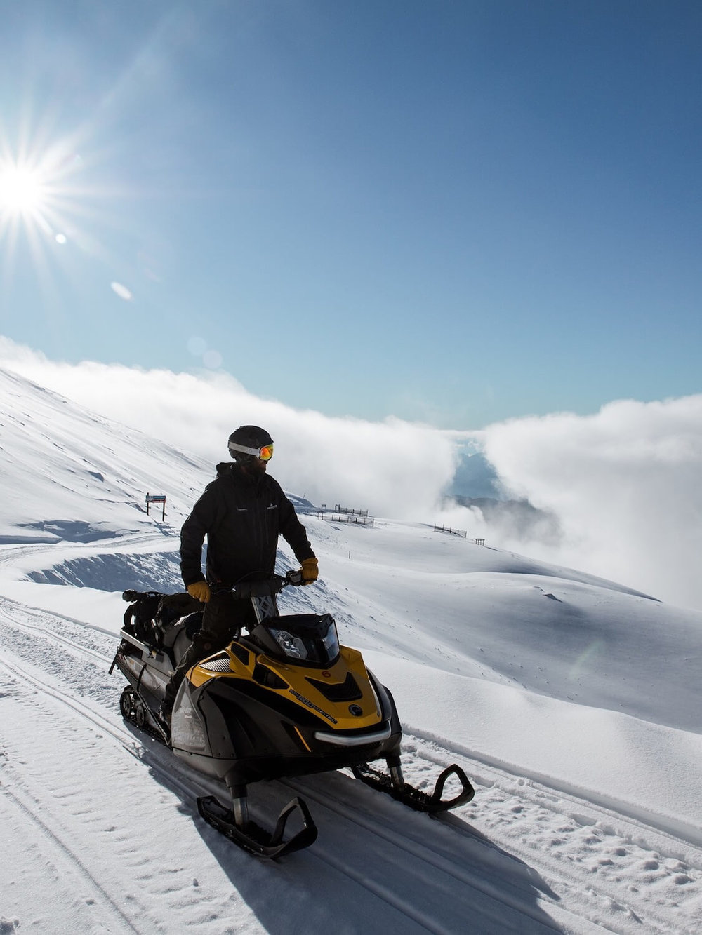 STAFF AT WANAKA'S TREBLE CONE HAVE BEEN WORKING AROUND THE CLOCK TO GET THE MOUNTAIN READY FOR OPENING ON SATURDAY JUNE 23. PHOTO: JACKSON LANA