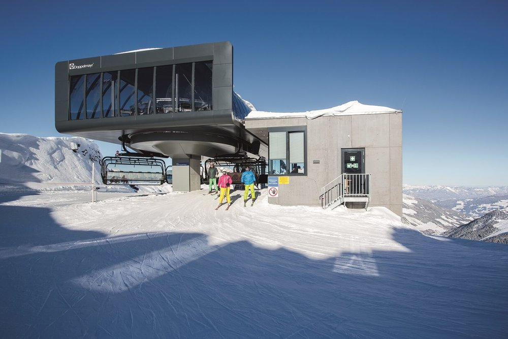 HOW THE NEW TOP STATION AT THE REMARKABLES MIGHT LOOK. CREDIT: DOPPELMAYR