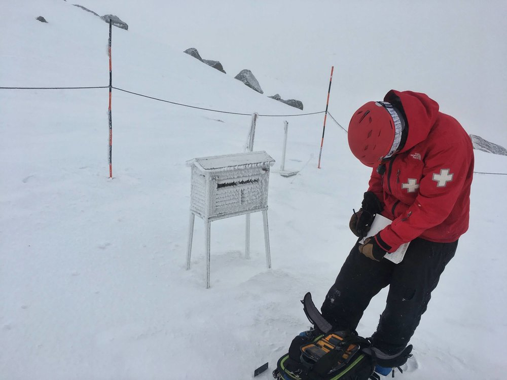 RECORDING INFORMATION GATHERED AT THE WEATHER STATION