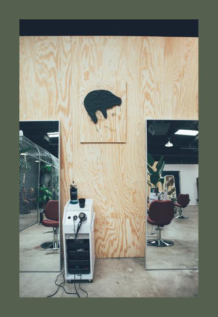 Envy Hair Space Art