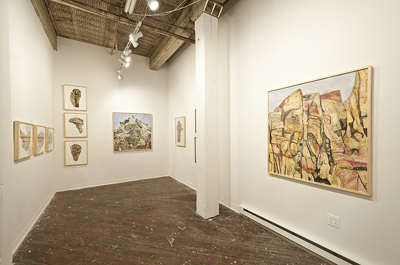 Samantha Mitchell: Totems and Topographies   Grizzly Grizzly Gallery,Philadelphia, PA  February 2012