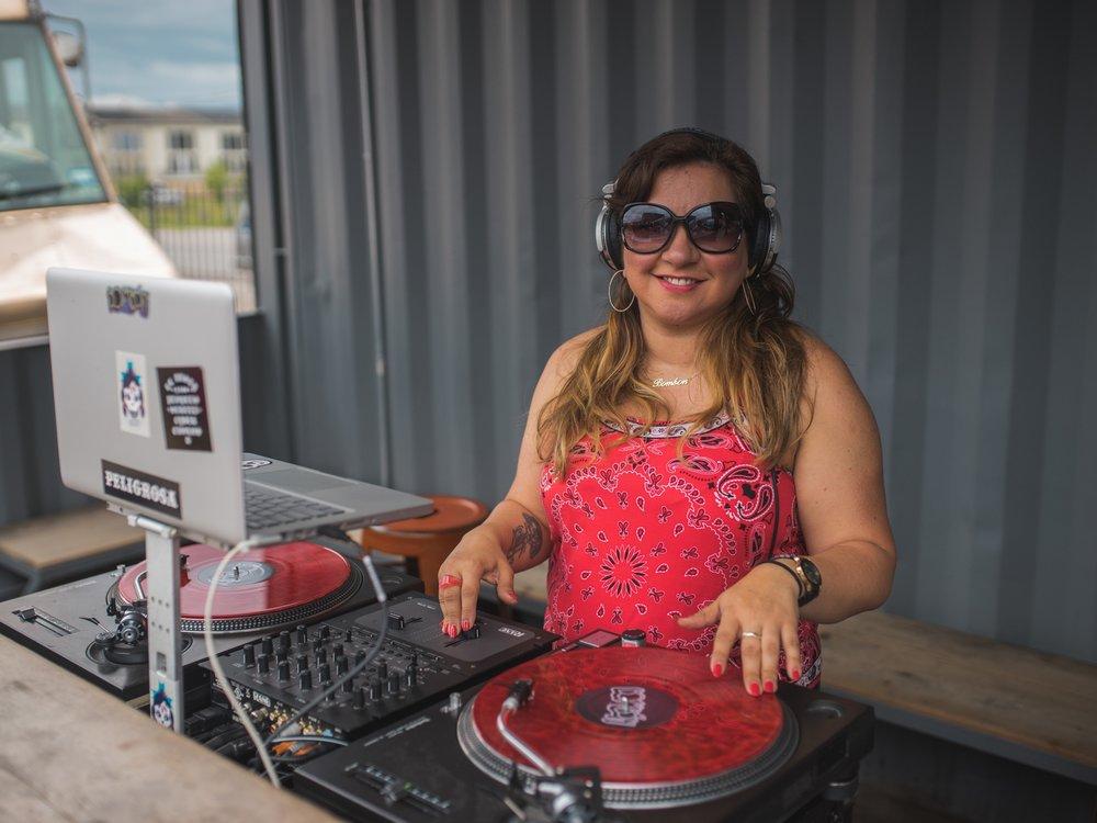 DJ Gracie Chavez of Bombon TX