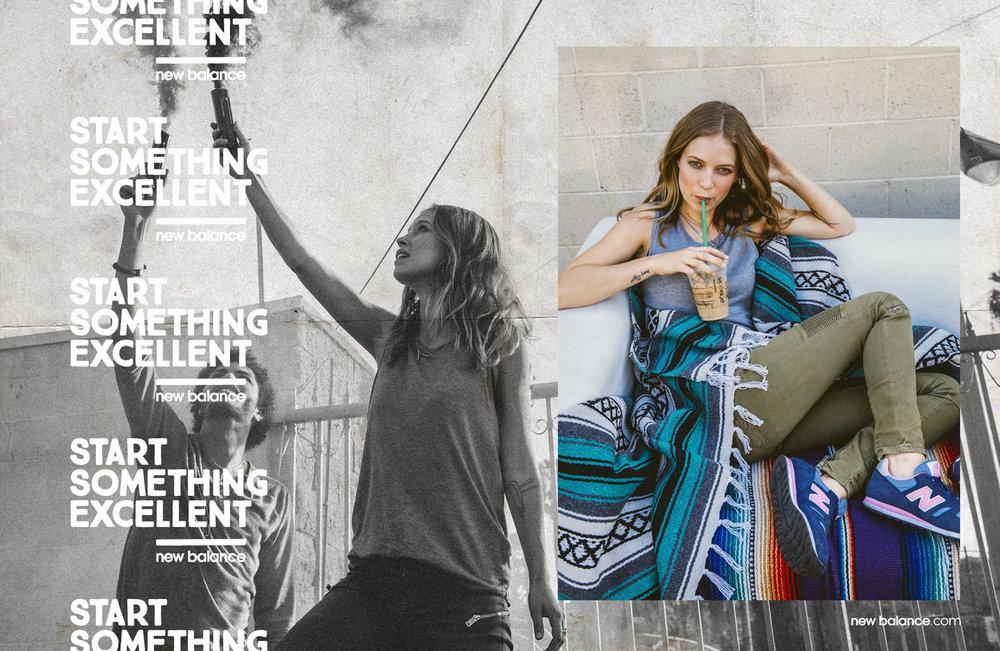 New Balance Lifestyle Print Ad
