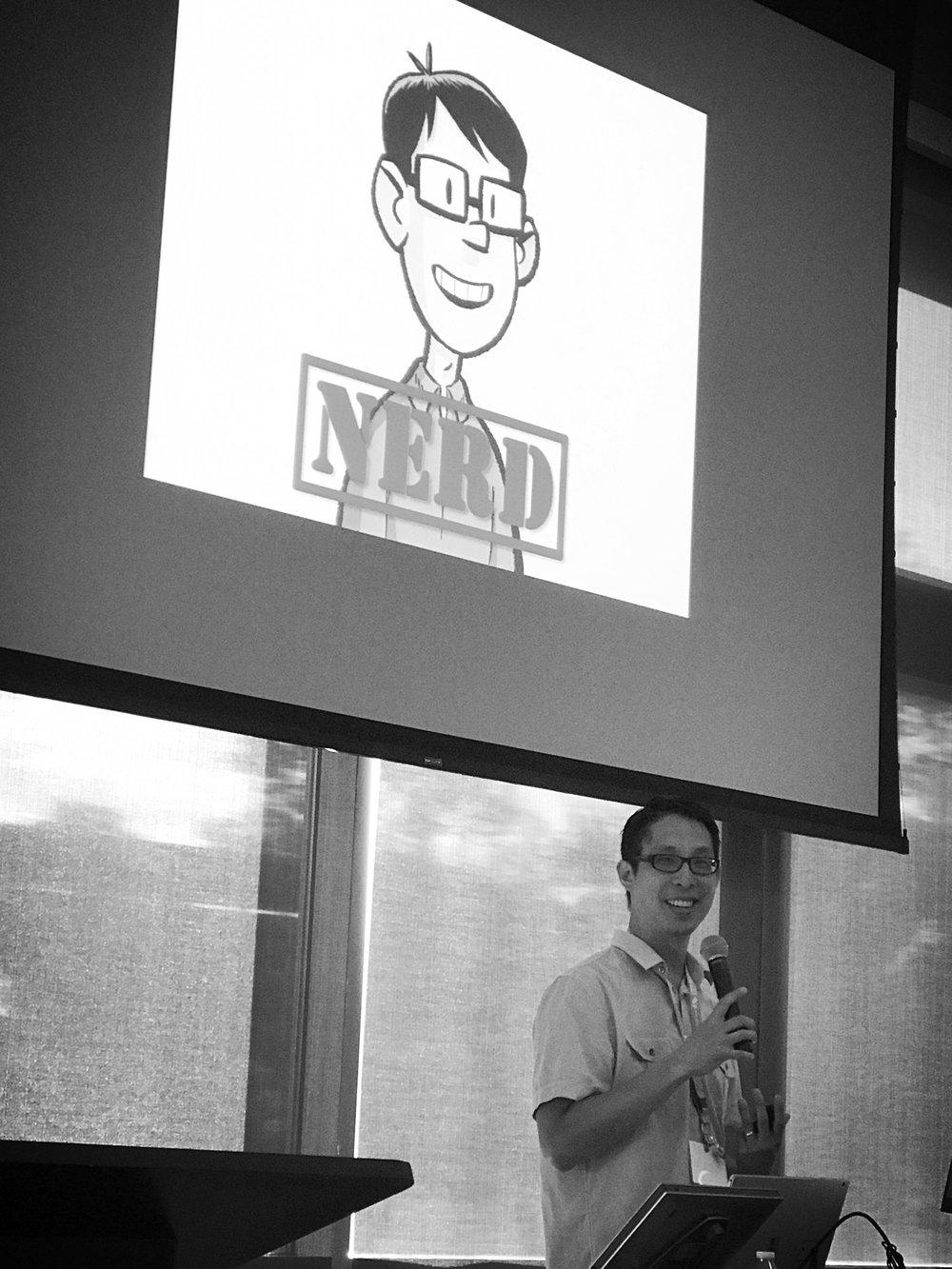 Gene Luen Yang: National Ambassador for Young People's Literature.