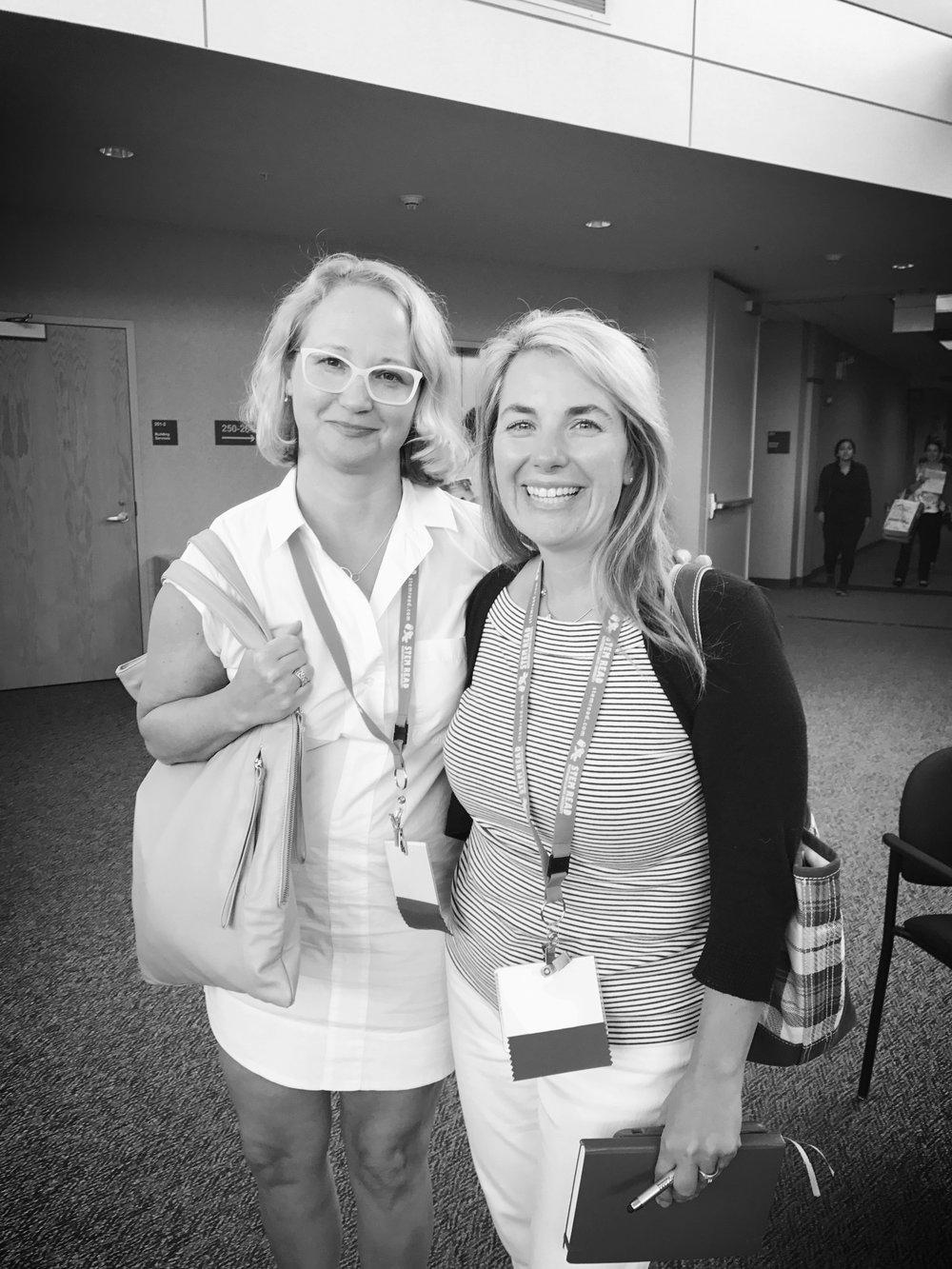 Loved presenting with Jennifer Holm!