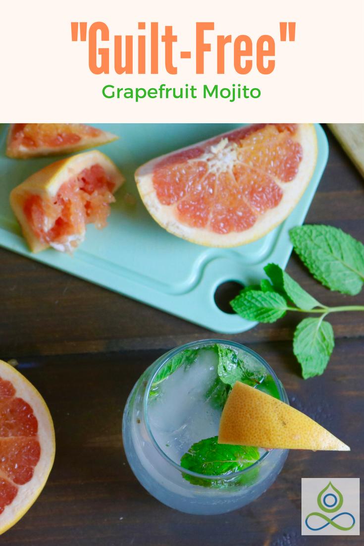 Healthy Grapefruit Mojito