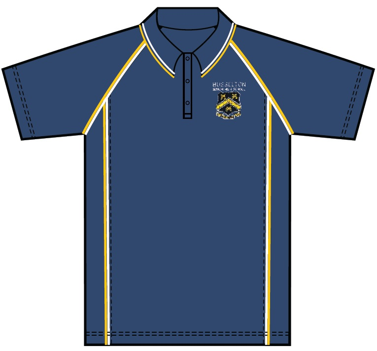 BSHS Blue Polo Shirt