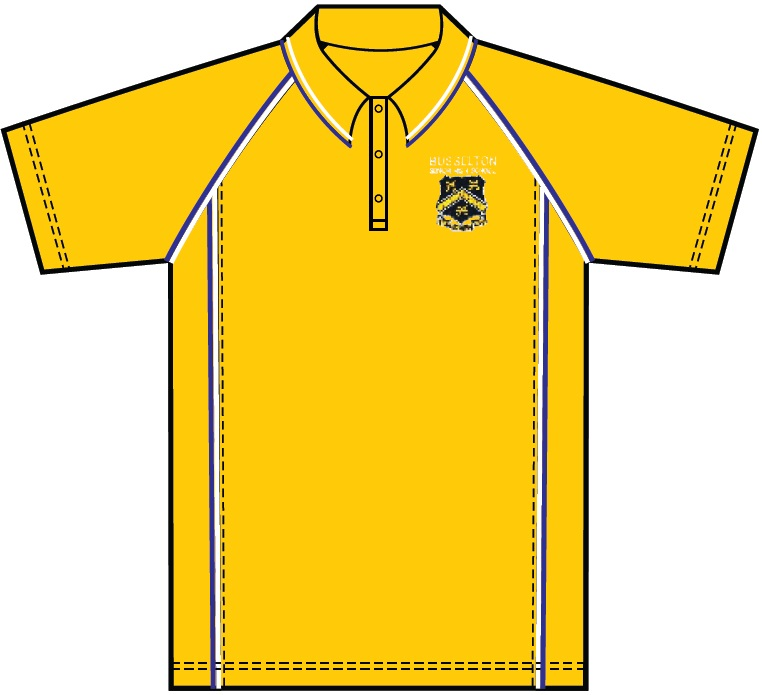 BSHS Yellow Polo Shirt