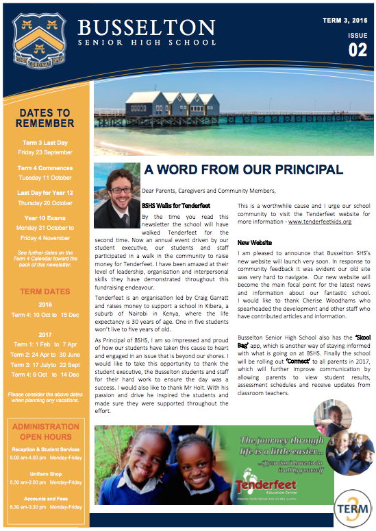 BSHS Newsletter Term 3, Issue 02
