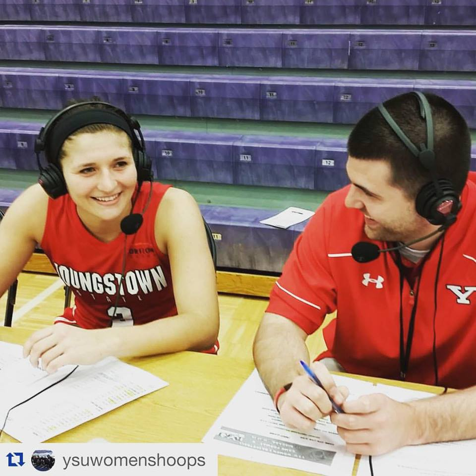 Postgame interview with Youngstown State Women's Basketball Player, Alison Smolinski,after a win at Niagara on November 17, 2015.