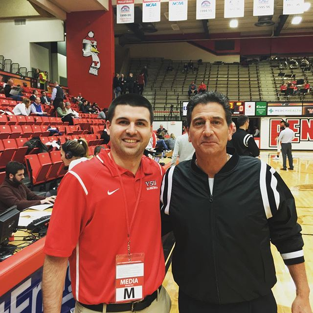 with NFL & NCAA Division I Men's Basketball Referee Gene Steratore