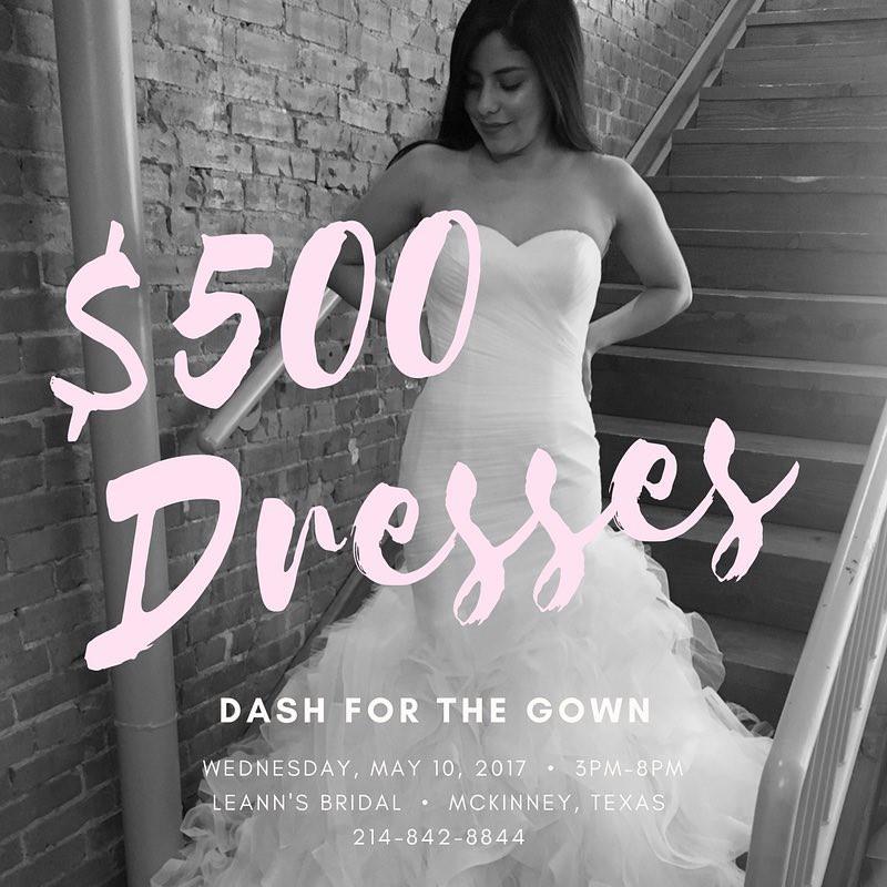 Dash For The Gown - LeAnn's Bridal