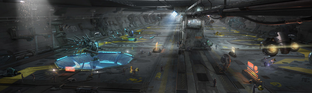For this space epic, AK-ART worked on out-worldly spaceships and mechs   Jupiter Ascending