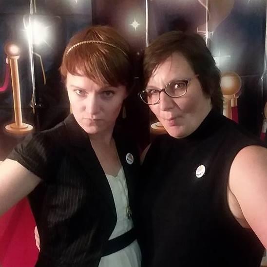 Kristin and Kori