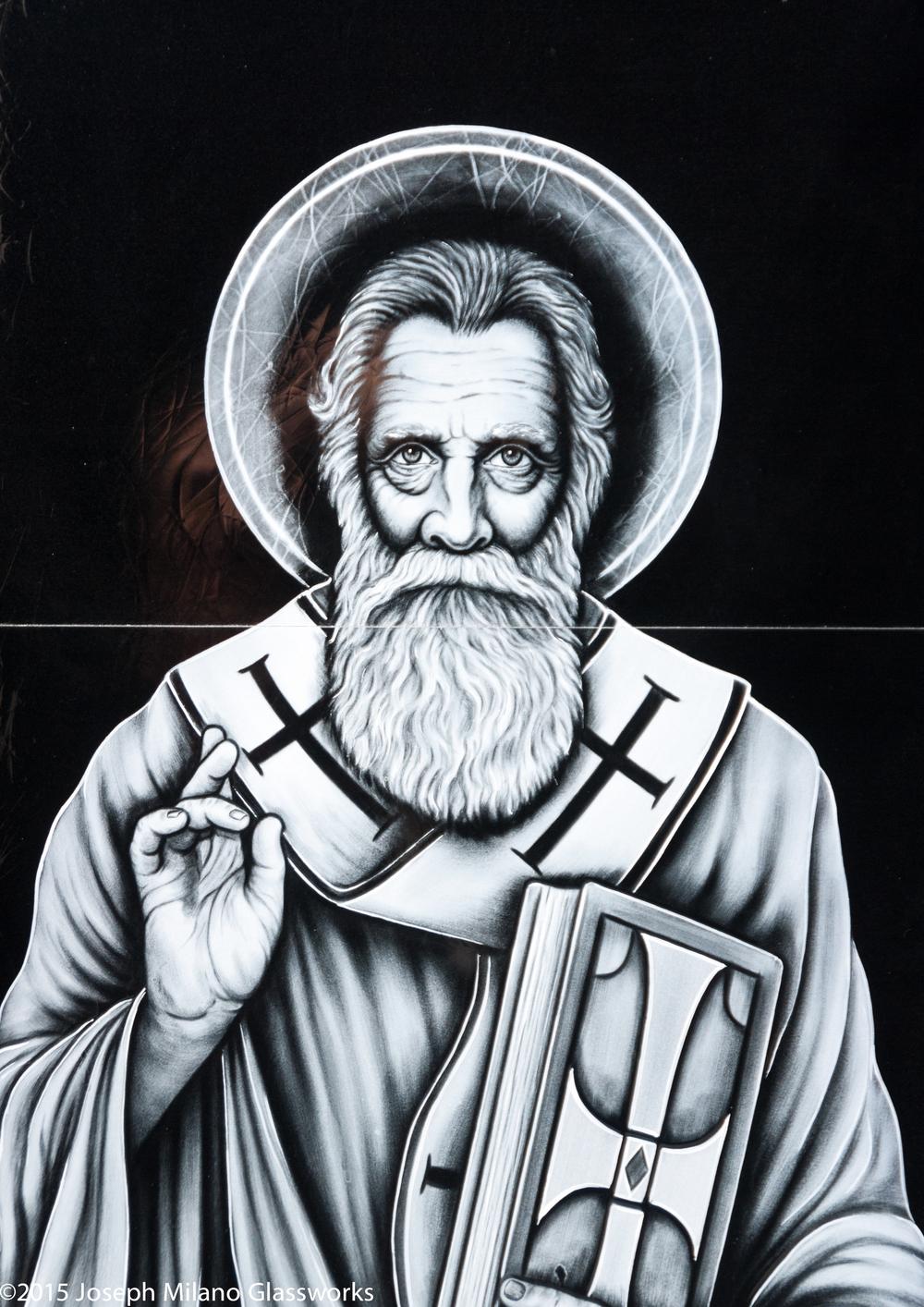 Detail of St. Methodius