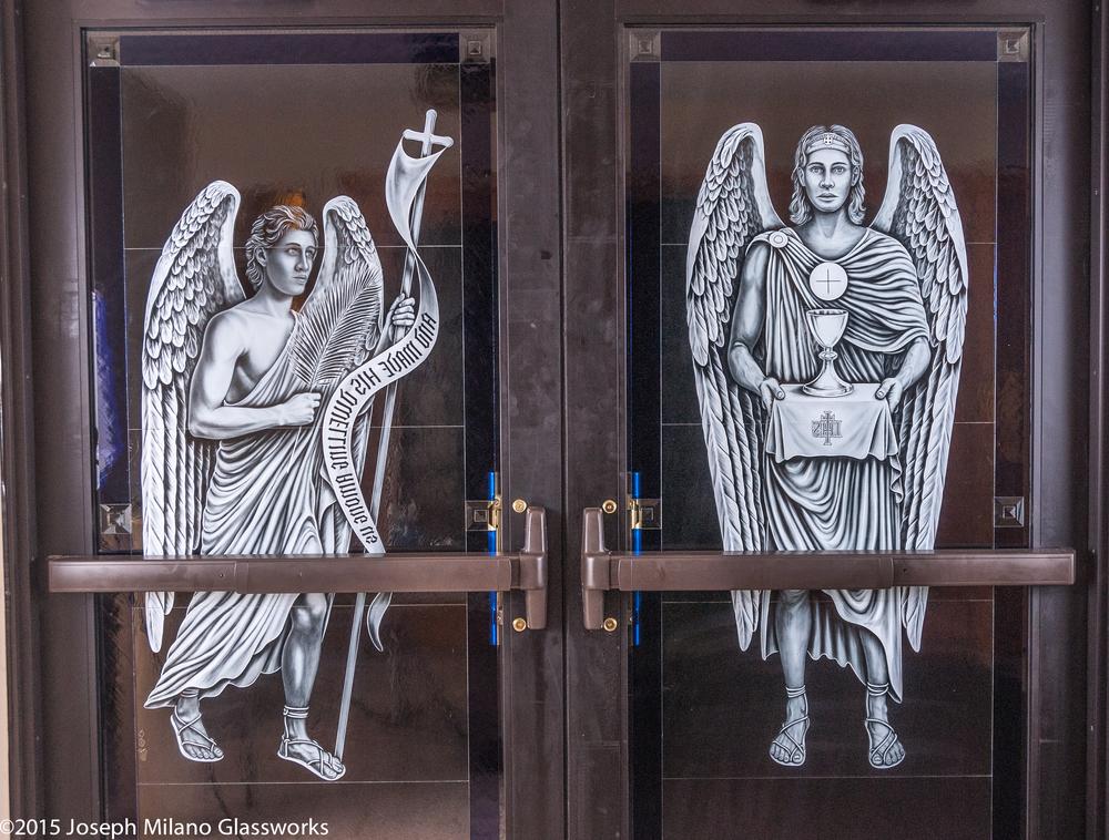 Left Angels, Interior View