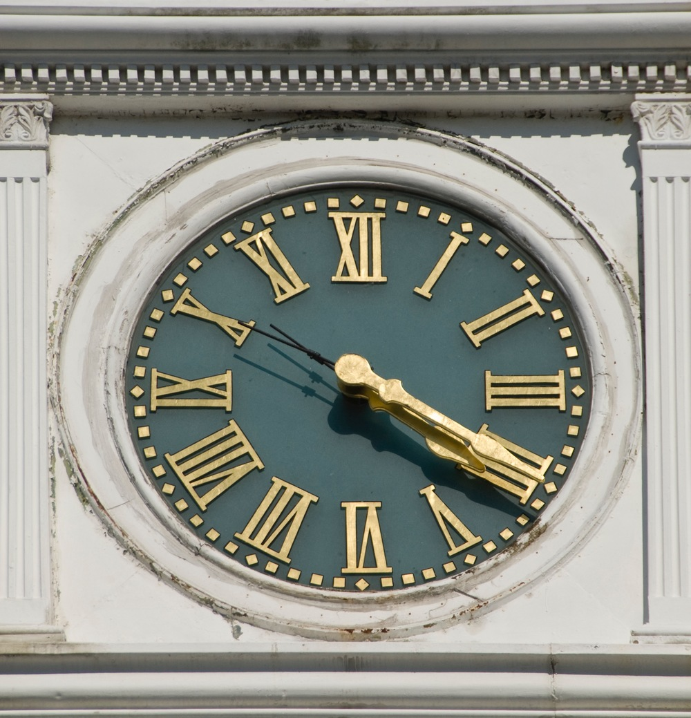 Clock Face Restoration
