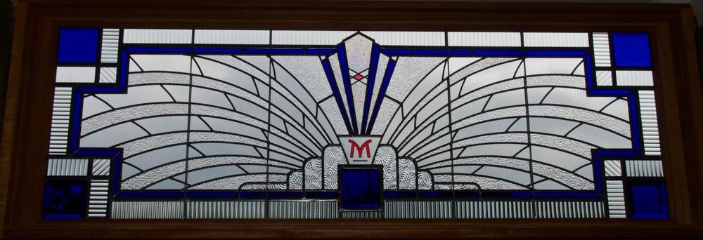 Murray's Deli Transom, Interior