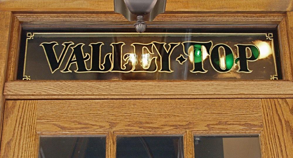 Great American Pub Transom