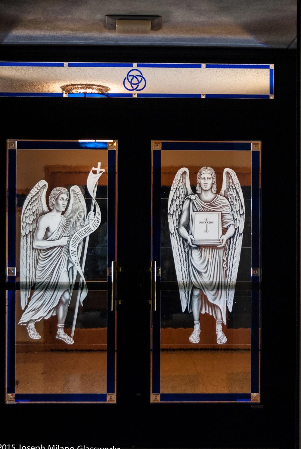 Left Angels, Exterior View
