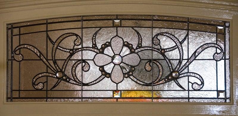 Victoran transom window
