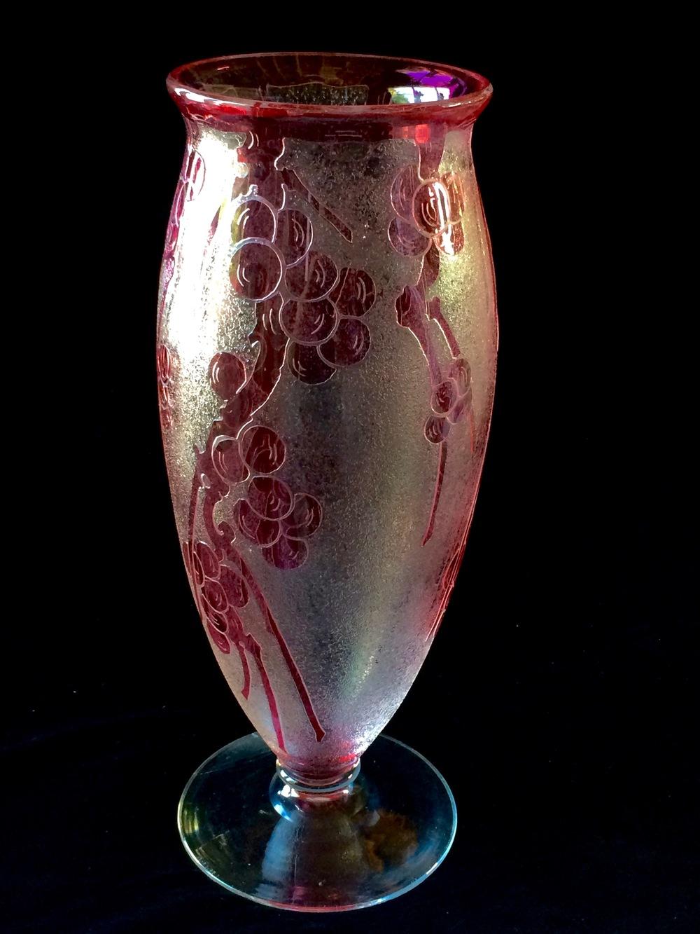 Repaired Steuben Vase