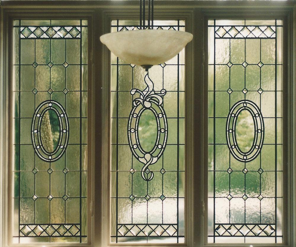 Kitchen Privacy glass window