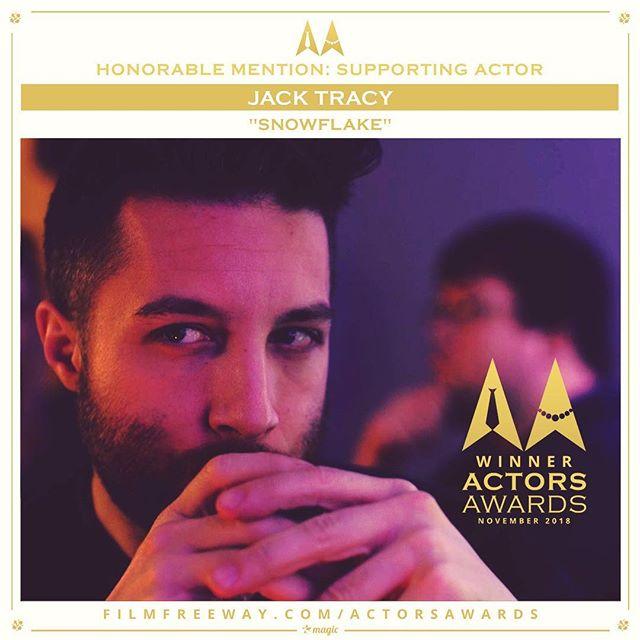 😘😘😘😘 @actorsawards • • • #gay #gaymovie #lgbt #lgbtmovie #gaynewyork #gaysofinstagram #scruffygay #gaystagram #actorslife #snatchingtrophies #winner #filmfestival #officialselection #actor #actorslife