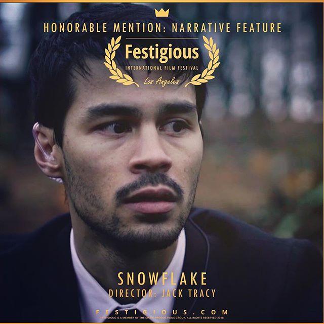 🎊🍾🎉👏🏻👏🏻👏🏻👏🏻 @festigious • • • #gaymovie #gayfilm #indiefilm #gay #lgbt #gayfollow #instagay #gaystagram #indie #movie #filmfestival #officialselection #winner #gaysofinstagram