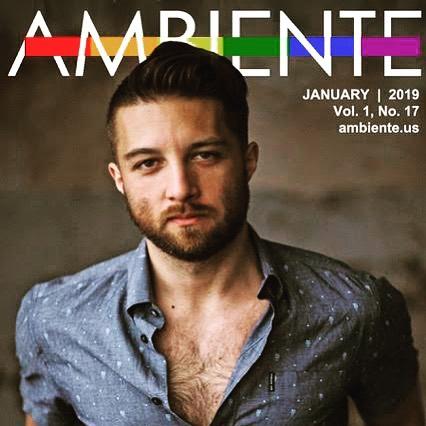 @jacktracymusic talks about his sexy new music video as this month's cover story for Ambiente magazine. • • • #gay #gaymagazine #gayman #gaymusic #lgbt #indiemusic #lgbtmusic #gaypride #gaynewyork #gaysofinstagram #gaystagram #hair #beard #scruffygay