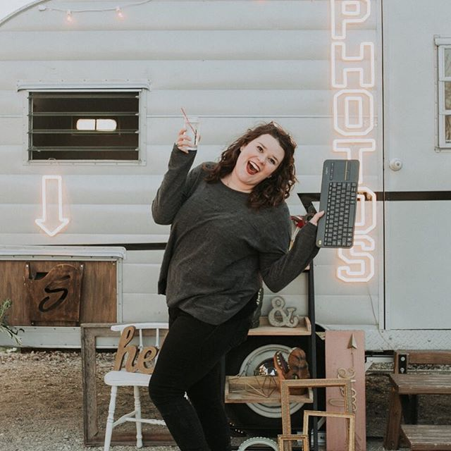 I love this girl to pieces! She's an amazing assistant but more importantly she's an amazing friend!!! I love traveling to Michigan with her too! She's seriously the best travel buddy! Who's that friend that you love working with?!? Photo: @authenticadventureco - - - - - #authenticadventureco #adventureboothco #vintagetrailer #bhldnweddings #michiganbride #chicagobride #wahm #mominbusiness #camper #vintagecamper #photoboothfun #photobooths #outdoorwedding #barnwedding #farmwedding #offbeatbride #vintagebride #bossgirl #chicagowedding #michiganwedding #bentonharbor #bosslife #bhldnbride #wisconsinbride #wisconsinwedding #chicagophotobooth #posing #strikeapose #props #photoboothprops