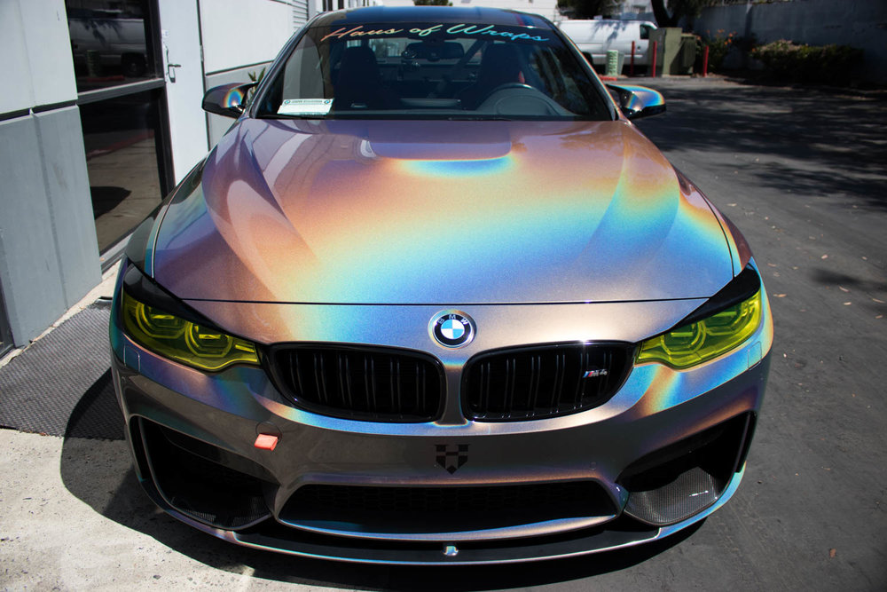 3M's new Psychedelic color making this M4 look insane!